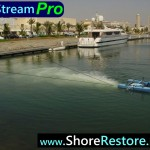 Airstream Aerator Marina Lake Bay Pond Muck Silt algae removal