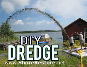 DIY Dredge - Portable Suction Dredger - ake and pond muck silt sludge removals