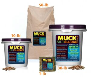 Lake & Pond Muck Silt Sudge removal killer Pellets