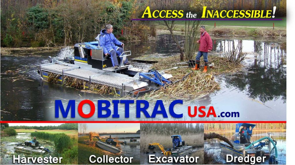 Mobitrac Aquatic Harvester Sales USA
